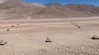 VIVA Militer: Tank-tank Angkatan Bersenjata India (BSS) di Ladakh