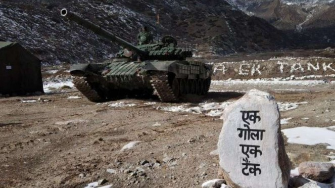 VIVA Militer: Tank Angkatan Bersenjata India (BSS) di Ladakh