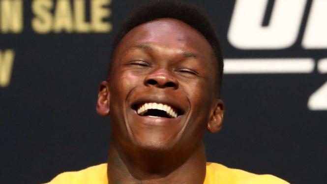 Petarung UFC, israel Adesanya