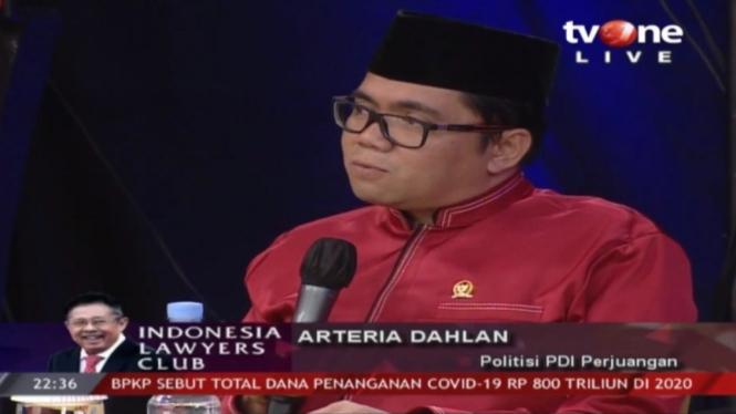 Politisi PDI Perjuangan, Arteria Dahlan