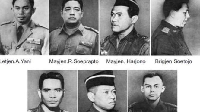 VIVA Militer: Pahlawan Revolusi Indonesia