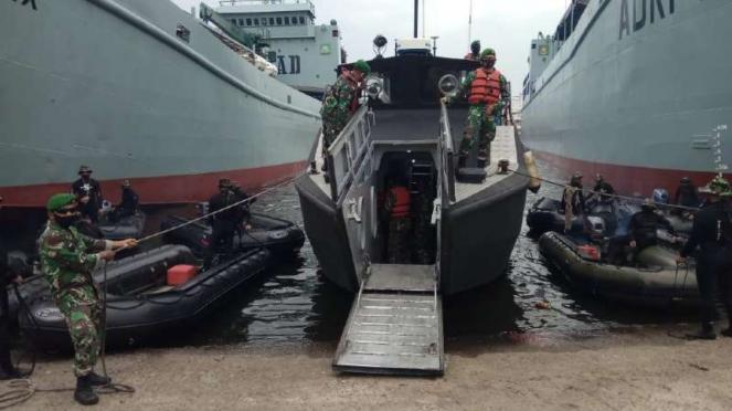 VIVA Militer : Kapal Motor Cepat (KMC) milik Satangair TNI AD