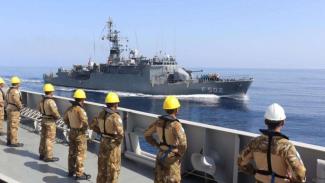 VIVA Militer: KRI Sultan Hasanuddin 366 Latihan Passex dengan Kapal Perang Turki