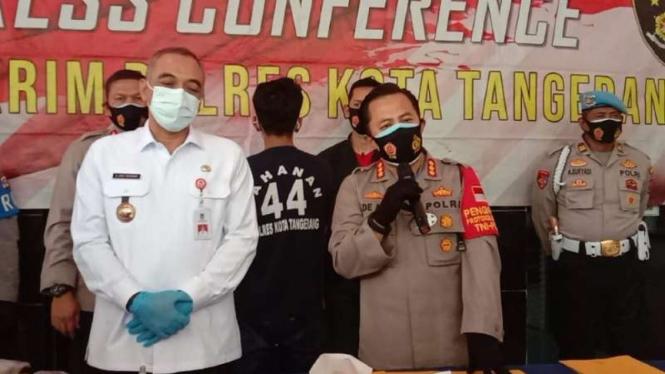 Vandalis coret musala di Tangerang ditetapkan tersangka