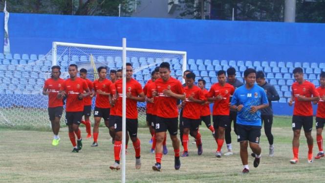 Latihan Sriwijaya FC