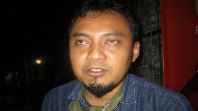 Komisioner KPU Kabupaten Kediri Nanang Qosim (antara)