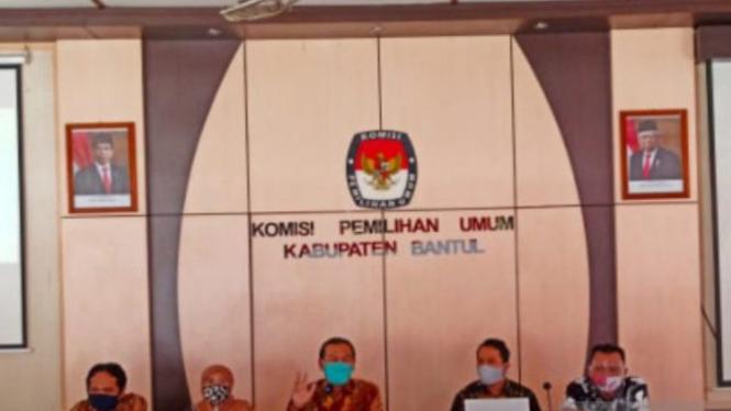 KPU Bantul (antara)