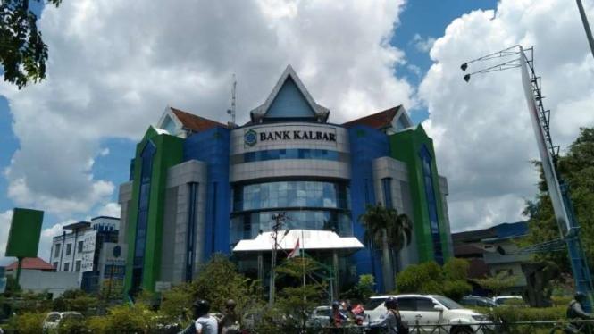 Kantor Bank Kalbar di Pontianak