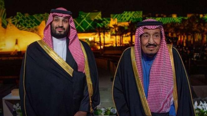 VIVA Militer: King Saudi and MBS.