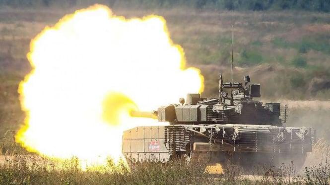 VIVA Militer: Tank Uralvagonzavod T-90 Proryv Angkatan Bersenjata Rusia