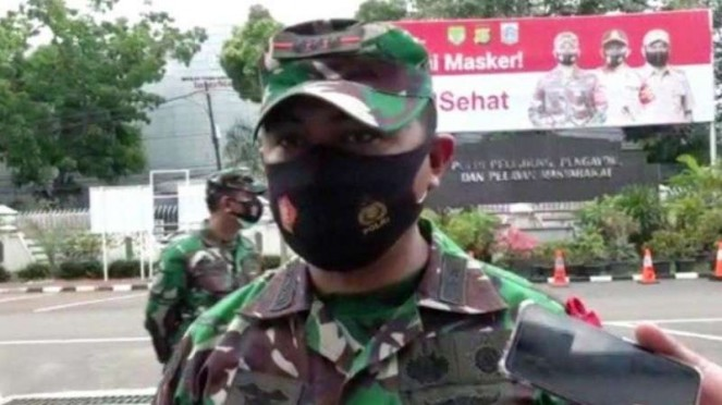 VIVA Militer : Dandim 0504/JS, Kolonel Inf Ucu Yustiana