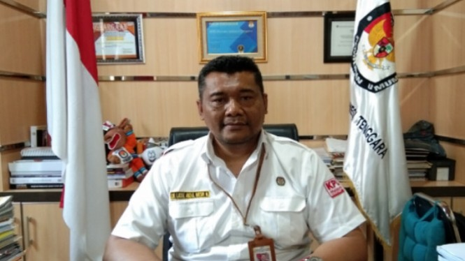Ketua KPU Sultra La Ode Abdul Natsir Muthalib