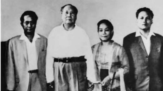 DN Aidit bersama Mao Zedong