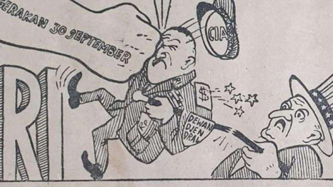 Karikatur Harian Rakjat