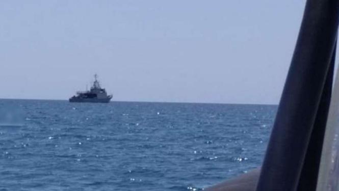 VIVA Militer: Kapal Perang KRI Tongkol 813 TNI.