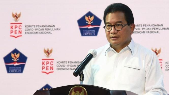 Juru Bicara Satgas Penanganan Covid-19 Prof Wiku Adisasmito
