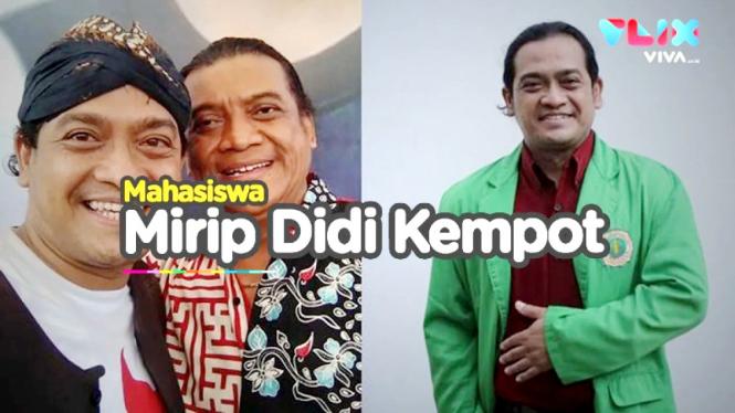 Mahasiswa mirip Didi Kempot, Bambang Surono