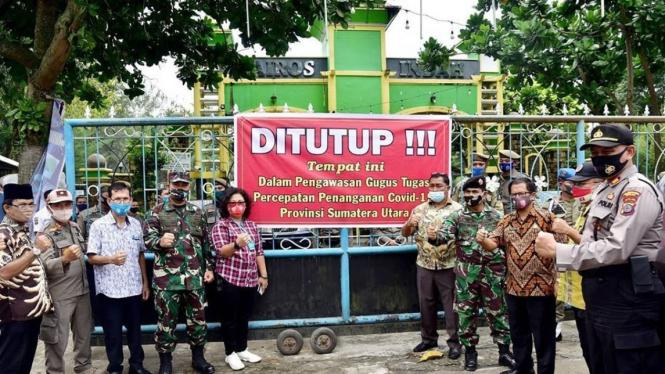 Satgas Pengendalian COVID-19 Tutup Waterpark di Sumut