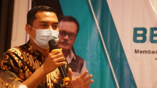 Ketua Bawaslu Bintan, Febri Adinata