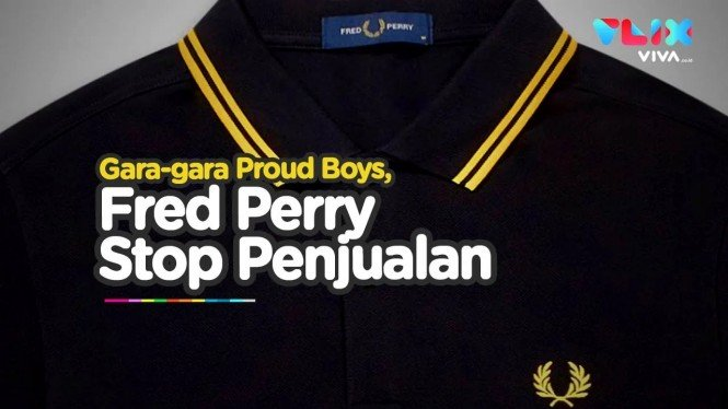 Fred Perry hentikan penjualan kaus polo hitam bercorak kuning di bagian kerah