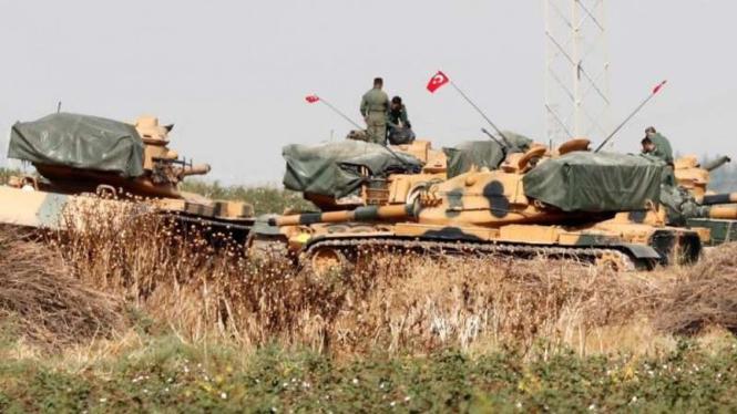 VIVA Militer: Tank Angkatan Bersenjata Turki (TSK) di Nagorno-Karabakh