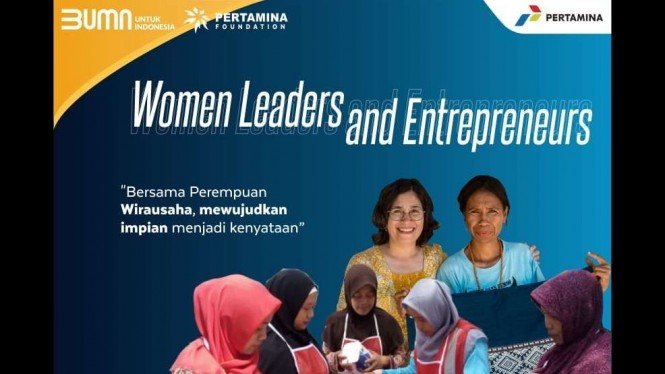 program PFPreneur dengan tema kegiatan Women Leader and  Entrepreneurs.