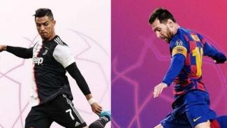 Cristiano Ronaldo vs Lionel Messi.