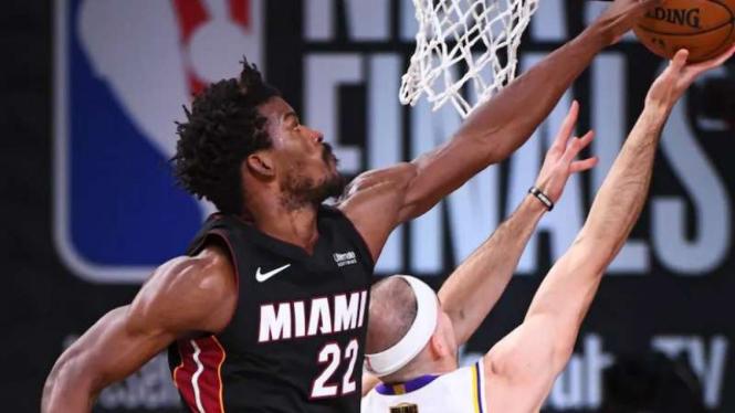 Pemain Miami Heat, Jimmy Butler.