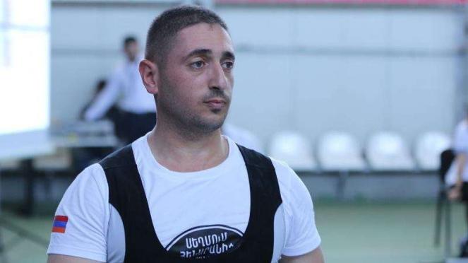 VIVA Militer: Atlet angkat besi Armenia, Tatul Harutyunyan