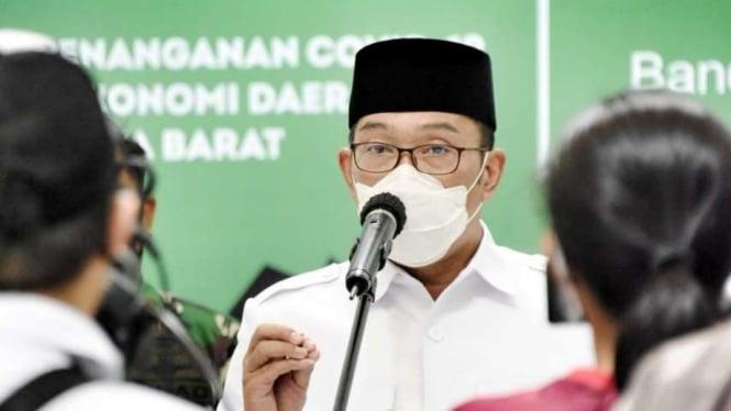 Gubernur Jabar Ridwan Kamil.