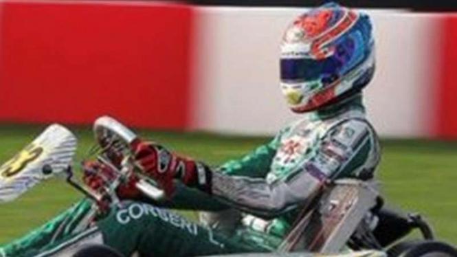 Pembalap Karting, Luca Corberi