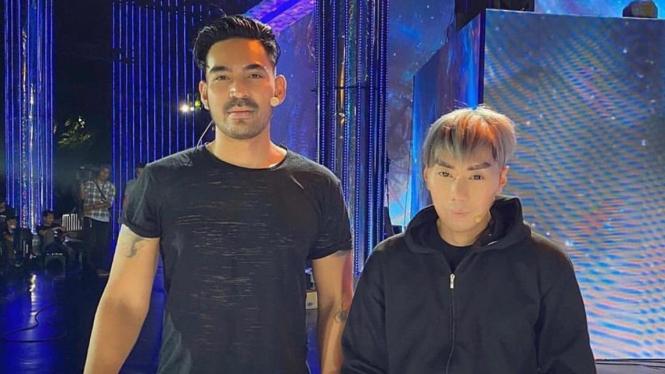Robby Purba dan Roy Kiyoshi