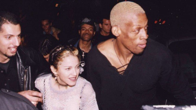Momen Dennis Rodman Dikurung Madonna karena Ngebet Minta Dihamili