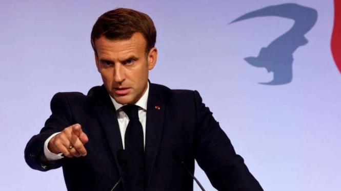 VIVA Militer: Presiden Prancis, Emmanuel Macron