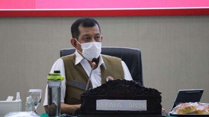 Kapala BNPB sekaligus Ketua Satuan Tugas (Satgas) Penanganan COVID-19 Nasional Letjen TNI Doni Monardo.
