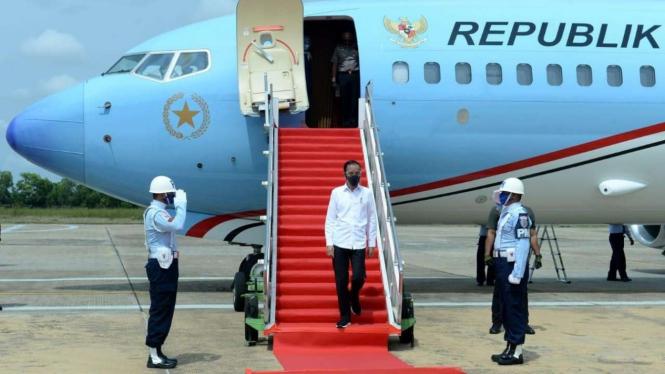 Presiden Joko Widodo ke Kalimantan Tengah