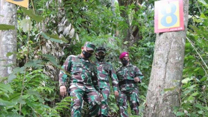 VIVA Militer: Panglima Kodam IM, Mayjen TNI Hassanudin di Pulau Rondo.