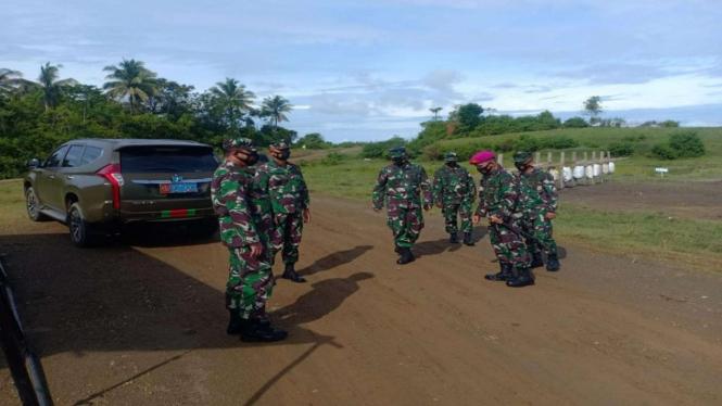 VIVA Militer: Danpasmar 3 Kunjungi Gudang Amunisi di Papua