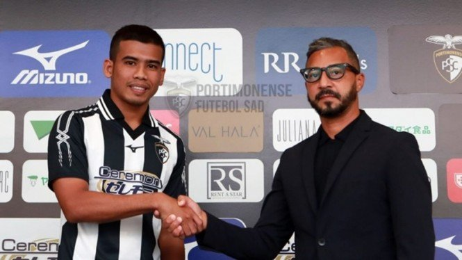Safawi Rasid, mantan anak asuh Rahmad Darmawan yang kini gabung klub Portugal