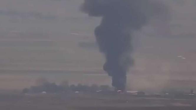 VIVA Militer: Depot minyak Azerbaijan di Jabrayil dihancurkan pasukan Armenia