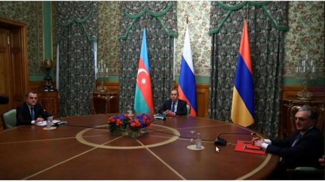 VIVA Militer : Armenia dan Azerbaijan sepakat melakukan gencatan senjata