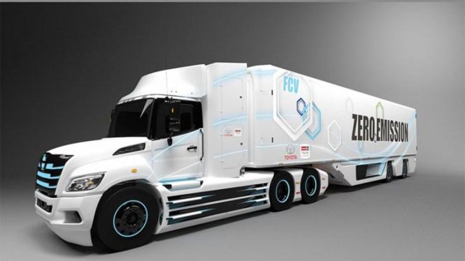 Truk kolaborasi Toyota dan Hino