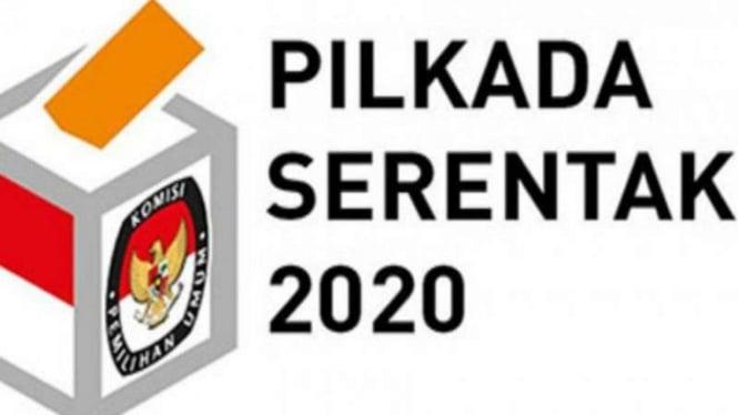 Ilustrasi logo Pilkada serentak 2020.