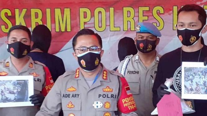Kapolres Kota Tangerang Kombes Pol Ade Ary.