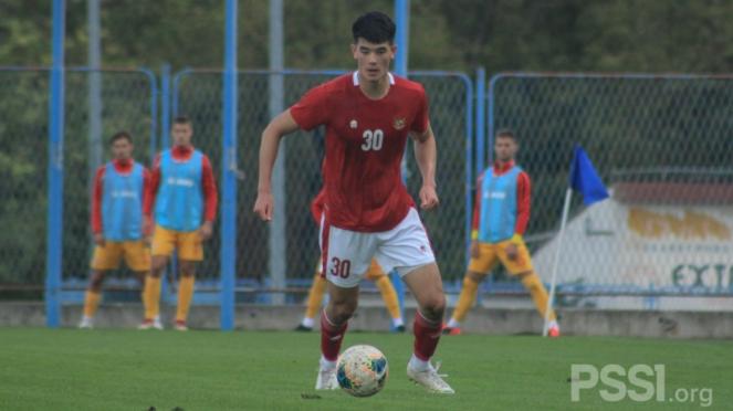 Elkan Baggott jalani debut di Timnas Indonesia U-19