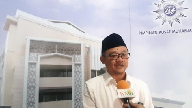 Sekretaris Umum Pimpinan Pusat Muhammadiyah Abdul Mu'ti