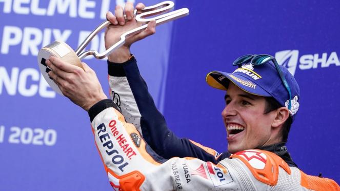 Pembalap Honda, Alex Marquez
