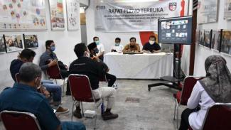 Rapat pleno Pilkada Depok
