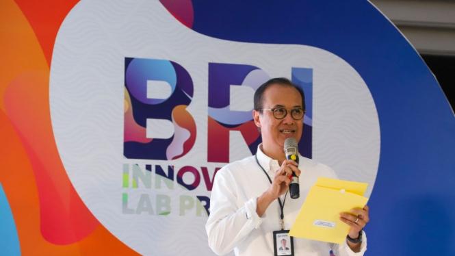 Direktur Digital, Teknologi Informasi dan Operasi BRI Indra Utoyo