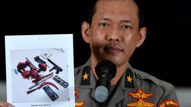 Kepala Biro Penerangan Masyarakat Polri Brigjen Awi Setiyono